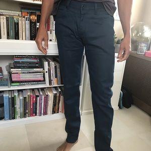 🇺🇸ROBERT JAMES NY Men's Slim Fit Blue  34 Pants